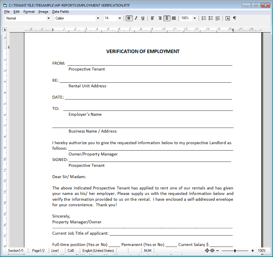 Property Management Forms For Landlords And Property Managers
